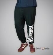 Spodnie dresowe Lonsdale London Logo Large Czarne