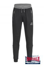 Spodnie dresowe LONSDALE LONDON EVERSLEY Czarne