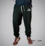 Spodnie dresowe Lonsdale London Two Tones Czarne