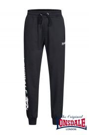 Spodnie dresowe LONSDALE LONDON NORTON WOOD Czarne