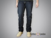 Spodnie dżinsowe Dickies Regular Michigan Vintage Wash Granatowe