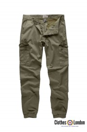 Spodnie joggery SURPLUS BAD BOY PANTS oliwkowe