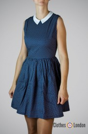 Sukienka Pop Boutique 50s Dress granatowa