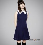 Sukienka Pop Butique Wednesday Dress Niebieska