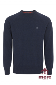 Sweter MERC LONDON BERTY Granatowy