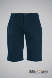 Szorty chino WEEKEND OFFENDER FAIRFIELD SS16 granatowe