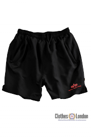 Szorty do pływania ALPHA INDUSTRIES Sport Swim Short czarne