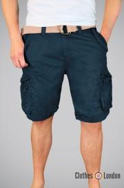 Szorty Xylontum Vintage Shorts Ciemnogranatowe