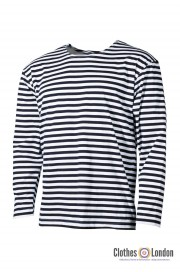 T-Shirt z długim rękawem longsleeve marynarska  w paski SAILOR MAX FUCHS
