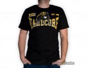 T-shirt 100% Hardcore Dog Czarny