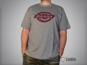 T-shirt Dickies Horseshoe One Color Tee Szara