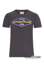 T-shirt GOODYEAR EAST LAKE ciemnoszary