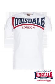 T-shirt LONSDALE LONDON CREATON biały