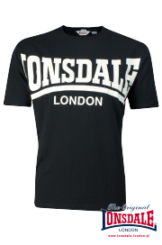 T-shirt LONSDALE LONDON York czarny