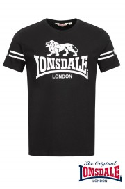 T-shirt LONSDALE LONDON ALDEBURGH Czarny
