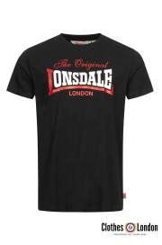 T-shirt LONSDALE LONDON ALDINGHAM Czarna