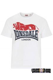 T-Shirt LONSDALE LONDON BERRY HEAD biały