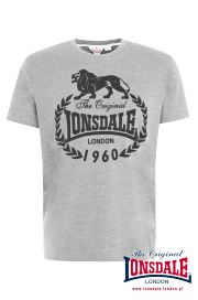 T-shirt LONSDALE LONDON BRACKNELL Szary