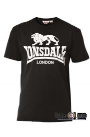 T-shirt  LONSDALE LONDON COAL Czarny