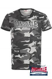 T-shirt LONSDALE LONDON COBBET szary moro