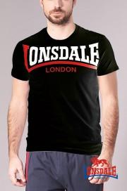 T-shirt LONSDALE LONDON CREATON Czarna