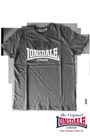 T-shirt LONSDALE LONDON GARGRAVE Szary