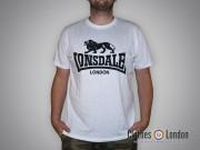 T-shirt  Lonsdale London Logo Biały