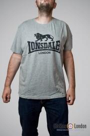 T-shirt Lonsdale London Logo Szary