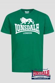 T-shirt LONSDALE LONON LOGO Zielony