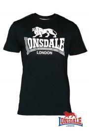 T-shirt LONSDALE LONDON PARSON Czarna