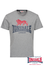T-shirt LONSDALE LONDON PEBWORTH Szary