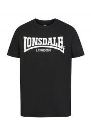 T-shirt LONSDALE LONDON PIDDINGHOE Big Logo czarny