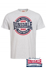 T-shirt LONSDALE LONDON RICHBORNE szary