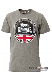 T-shirt LONSDALE LONDON RUNWELL Szary