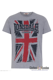 T-Shirt LONSDALE LONDON SOUTHAMPTON szary