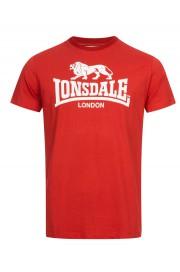 T-shirt LONSDALE LONDON ST.ERNEY czerwony