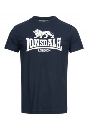 T-shirt LONSDALE LONDON ST.ERNEY granatowy