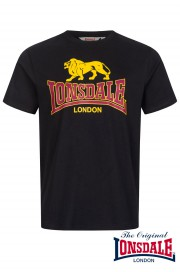 T-shirt LONSDALE LONDON TAVERHAM Czarna