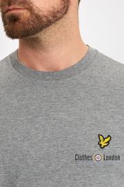 T-Shirt LYLE & SCOTT CREW NECK ciemnoszary