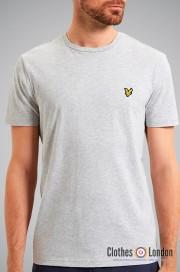 T-Shirt LYLE & SCOTT CREW NECK szary