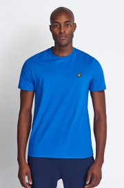T-Shirt LYLE & SCOTT CREW NECK Niebieski