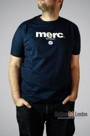 T-shirt Merc London Brighton Granatowy