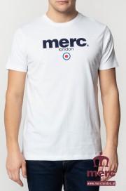 T-shirt MERC LONDON Brighton Biały