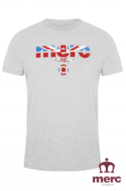 T-shirt MERC LONDON BROADWELL Szara
