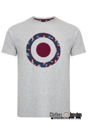 T - Shirt MERC LONDON TARIO szary