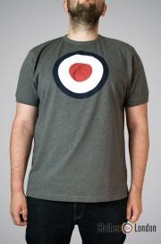 Koszulka męska Merc London Ticket Szara