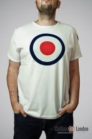 T - Shirt MERC LONDON TICKET biały