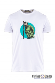 T-shirt WEEKEND OFFENDER LIAM Biały