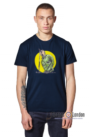 T-shirt WEEKEND OFFENDER LIAM Granatowy