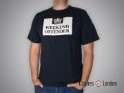 T-shirt Weekend Offender Prison Ciemnogranatowa